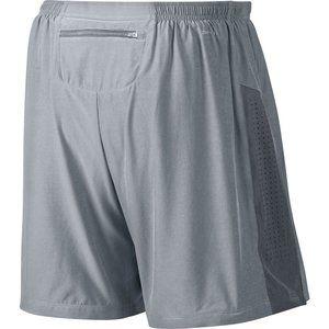 """Nike 7"""" 2 in 1 Phenom Running Shorts in Grey Small"""